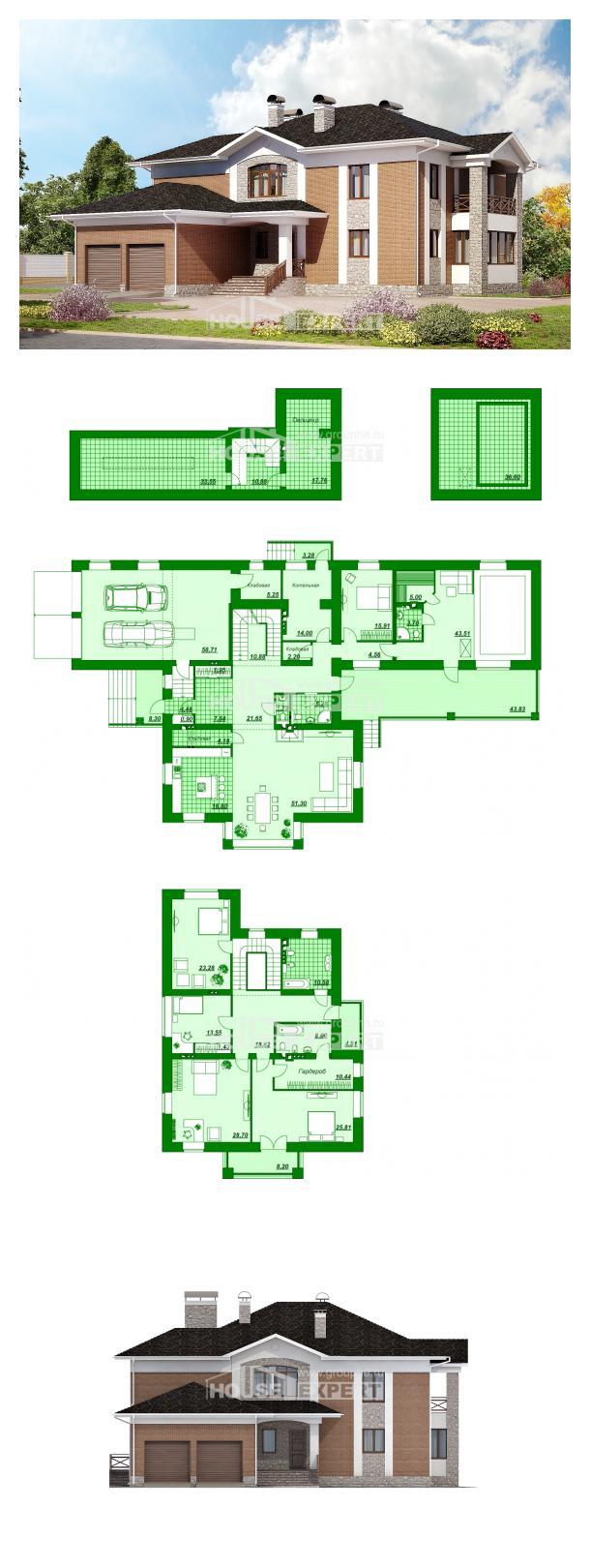 Проект дома 520-002-Л   House Expert