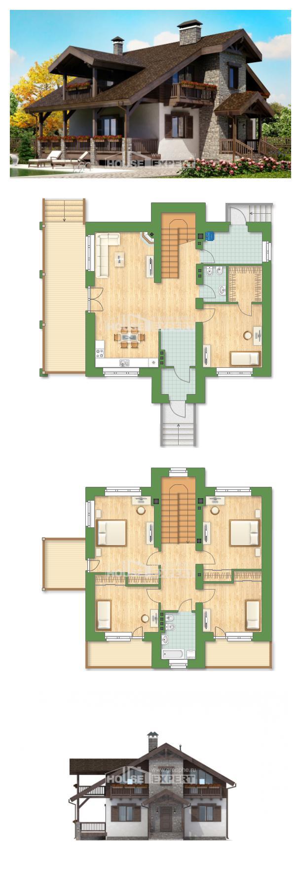 Проект дома 150-004-Л   House Expert