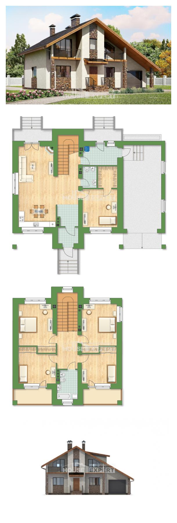 Проект дома 180-008-П | House Expert
