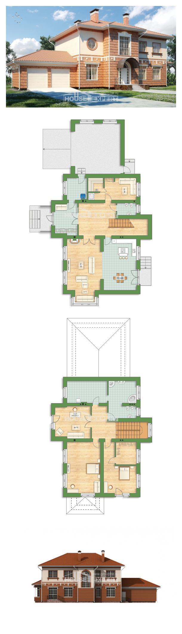 Проект дома 285-001-Л   House Expert