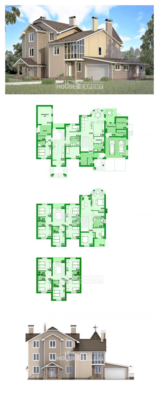 Проект дома 555-001-Л   House Expert