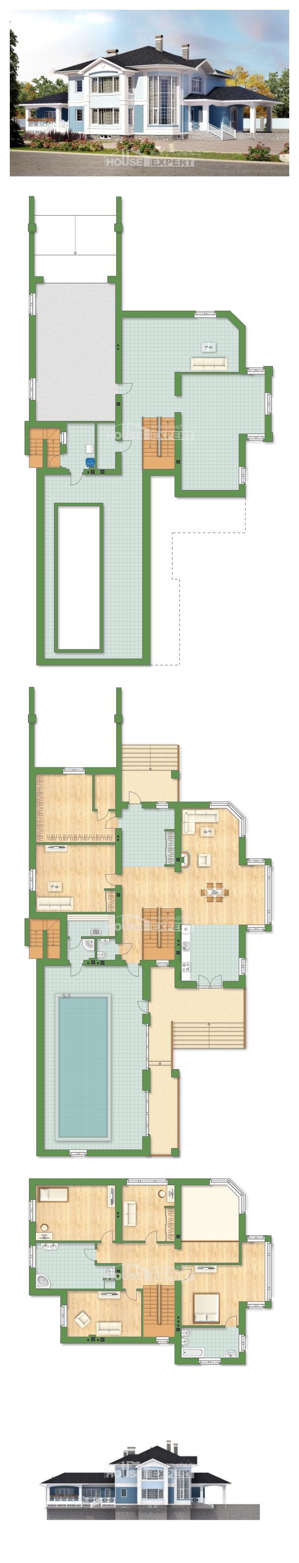 Проект дома 620-001-П | House Expert