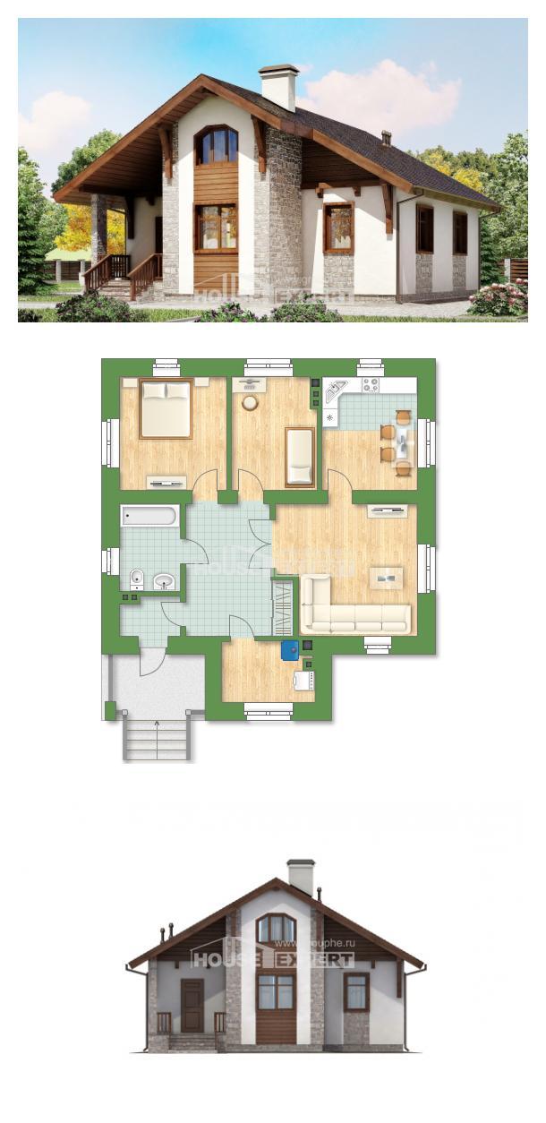 Проект дома 080-002-Л | House Expert