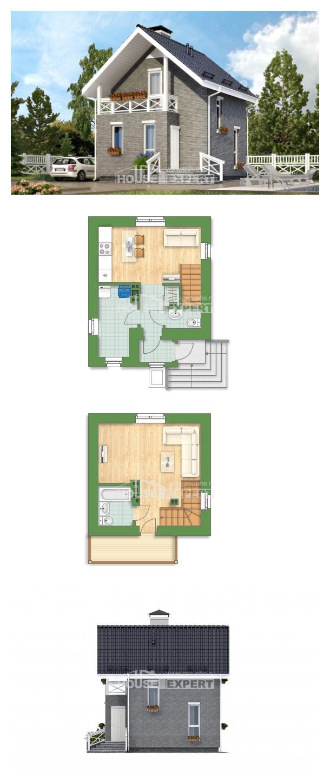 Проект дома 045-001-П   House Expert