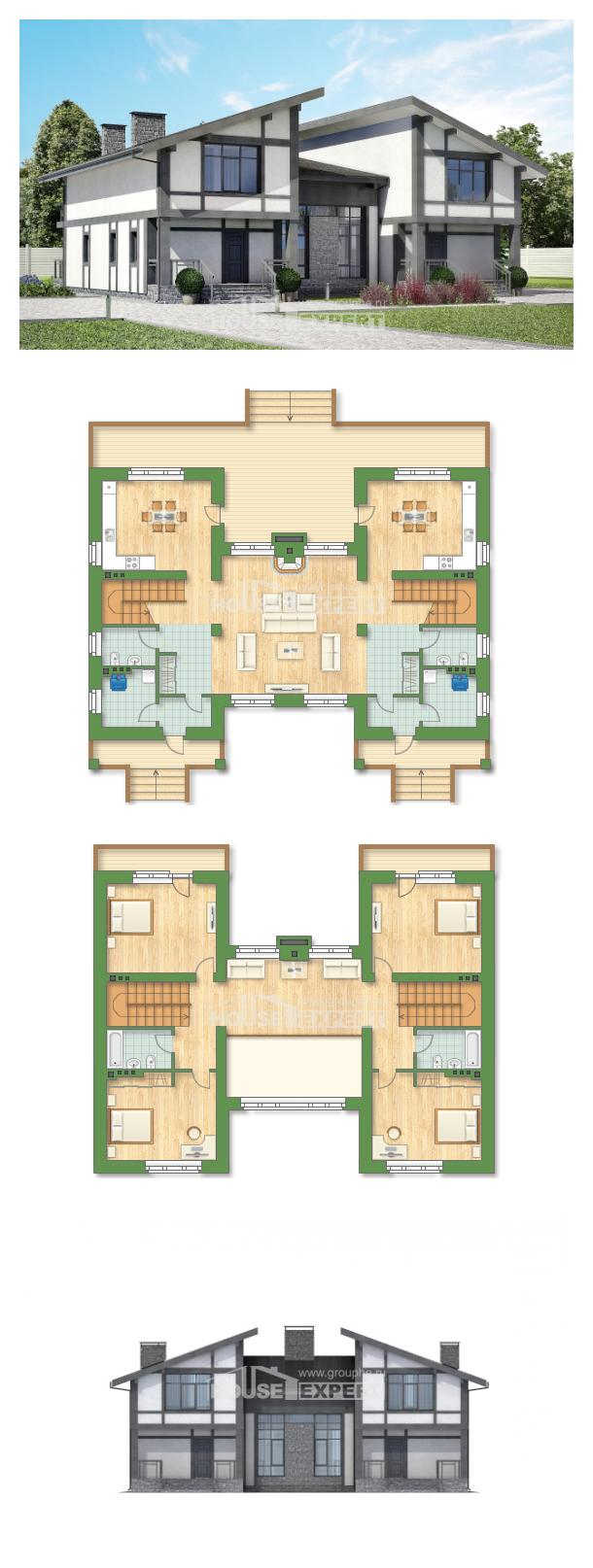 Проект дома 280-002-П   House Expert