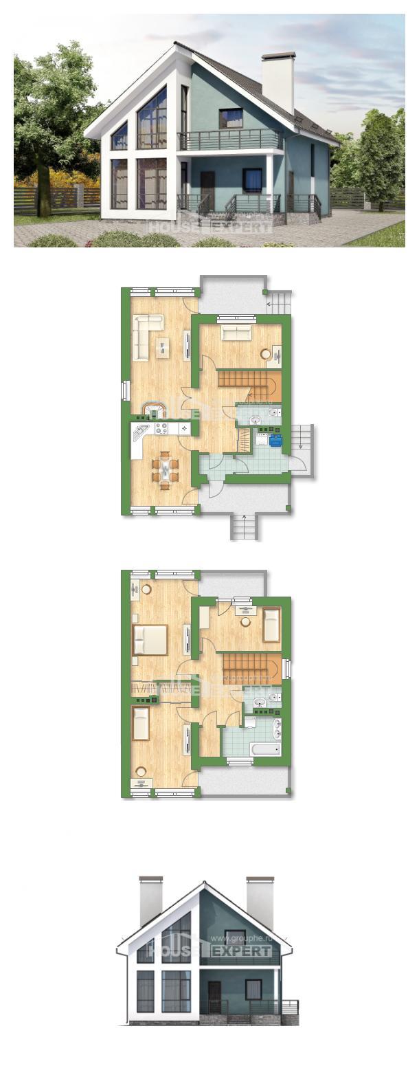 Проект дома 170-006-П   House Expert