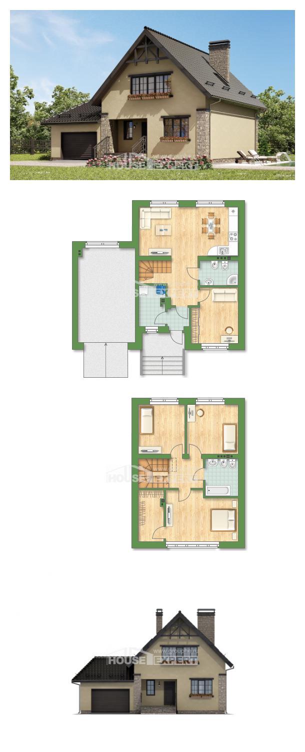 Проект дома 160-005-Л | House Expert
