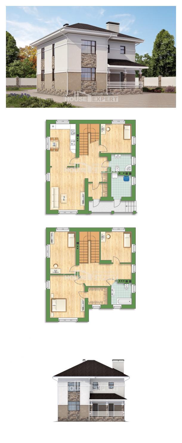 Проект дома 150-014-П   House Expert