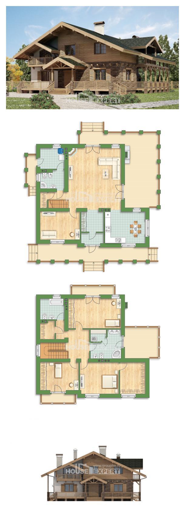Проект дома 250-003-Л   House Expert