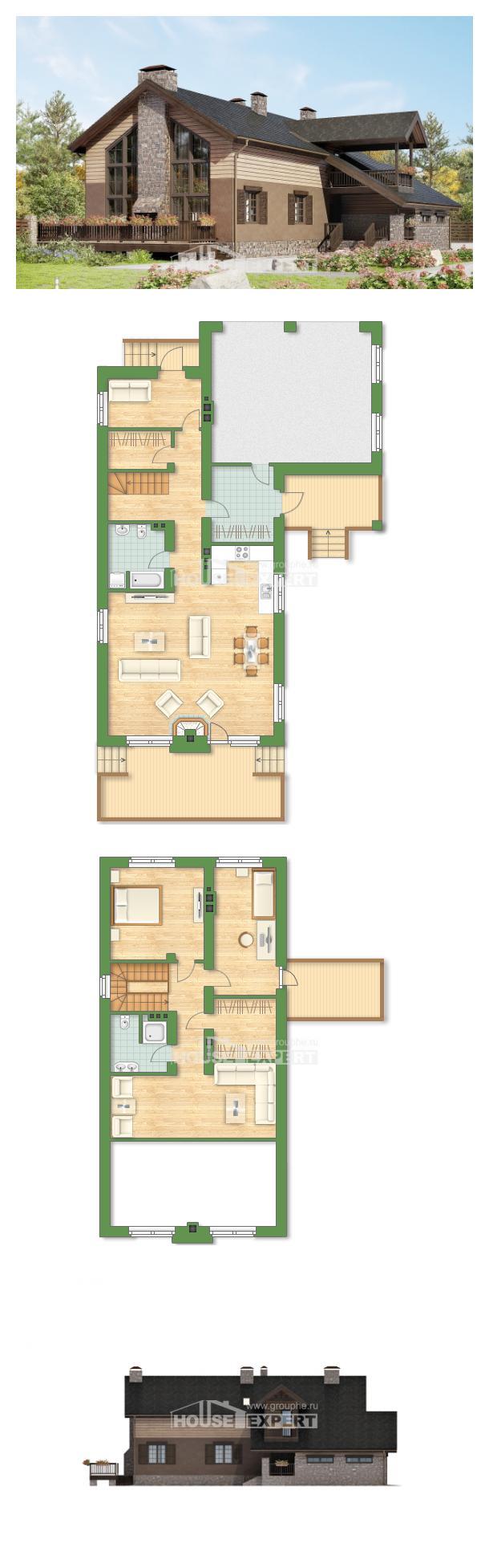 Проект дома 240-002-П   House Expert