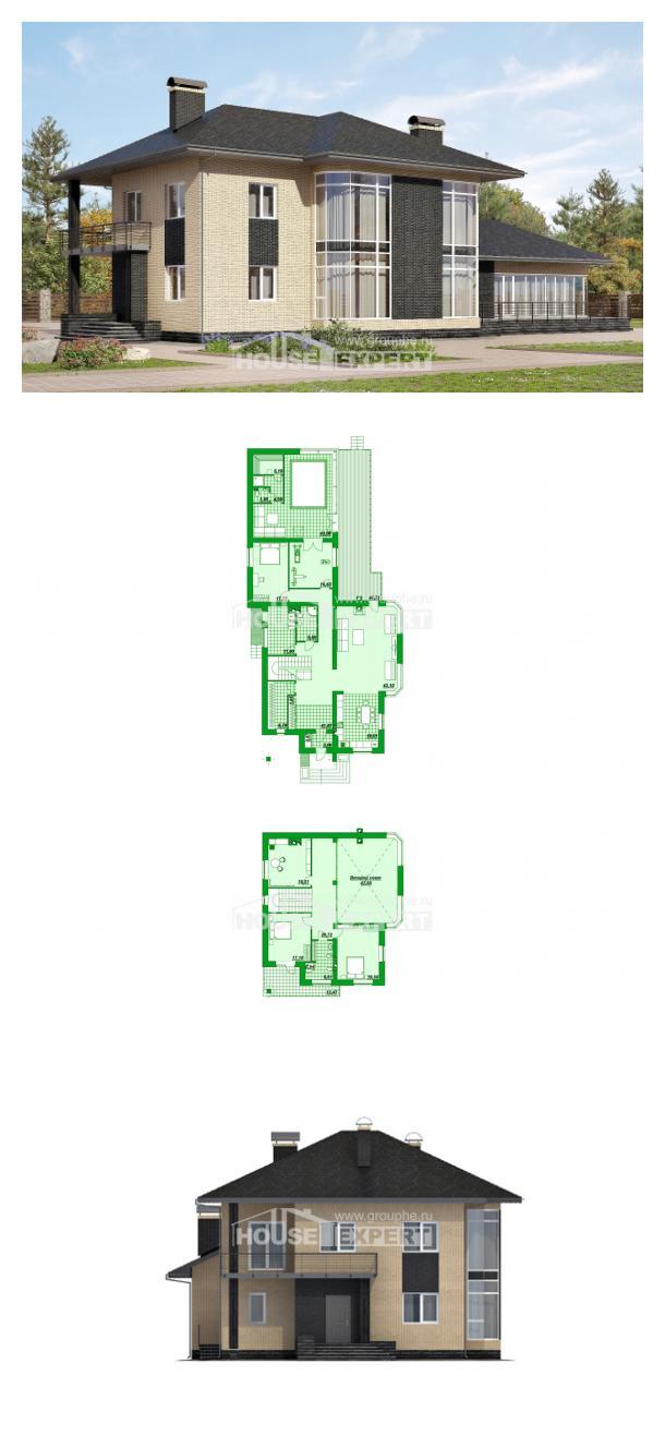 Проект дома 305-003-Л   House Expert