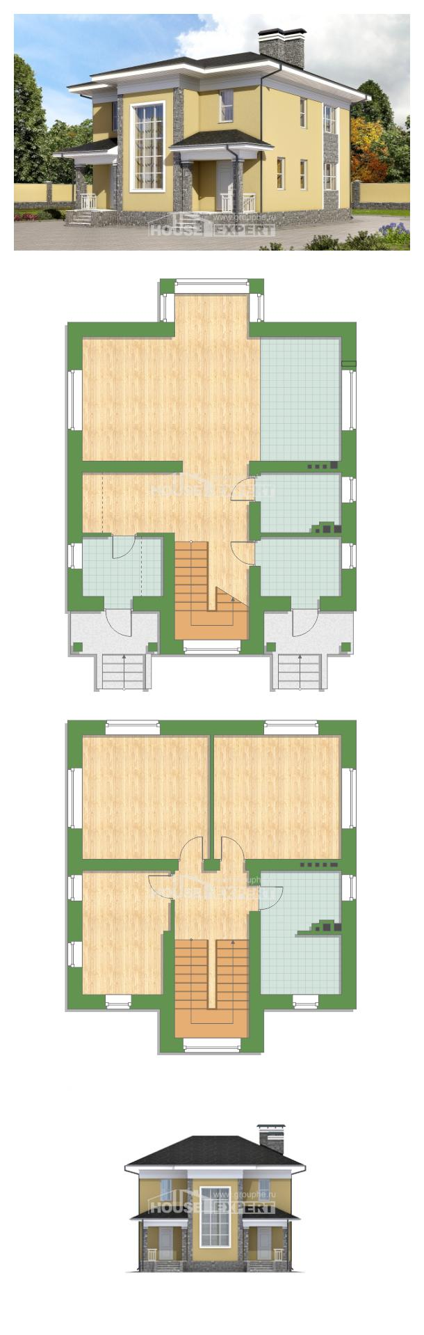 Проект дома 155-011-Л   House Expert